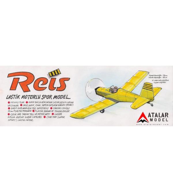 REİS Lastik Motorlu Spor Model Uçak